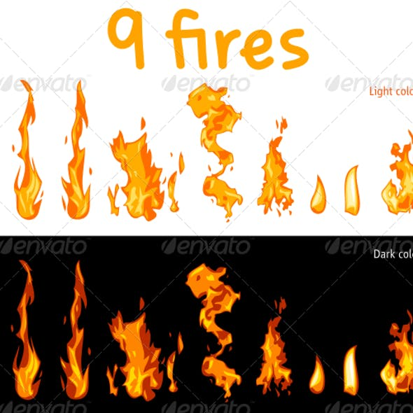 9 Fires