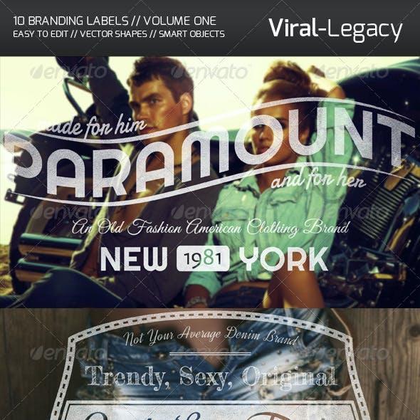 10 Branding Labels Volume One