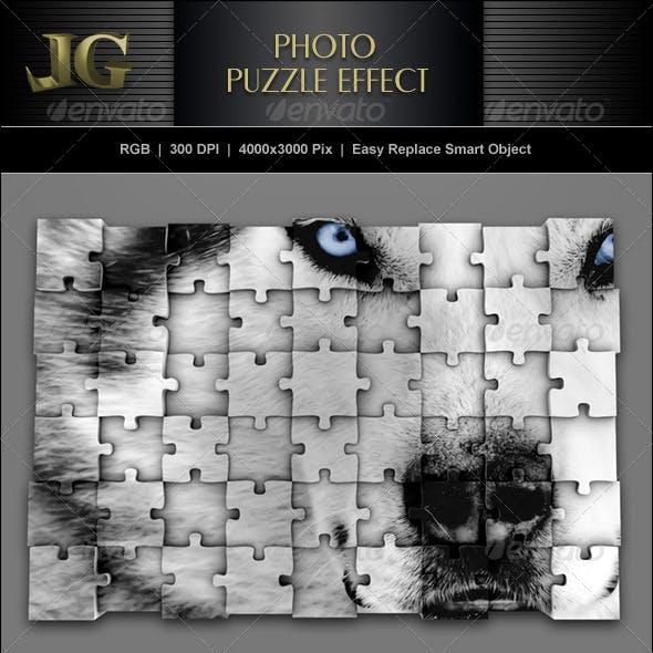 Photo Puzzle Effect