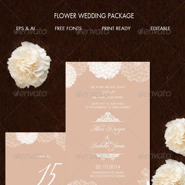 Flower Wedding Package