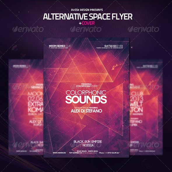 Alternative Space Flyer and Cover