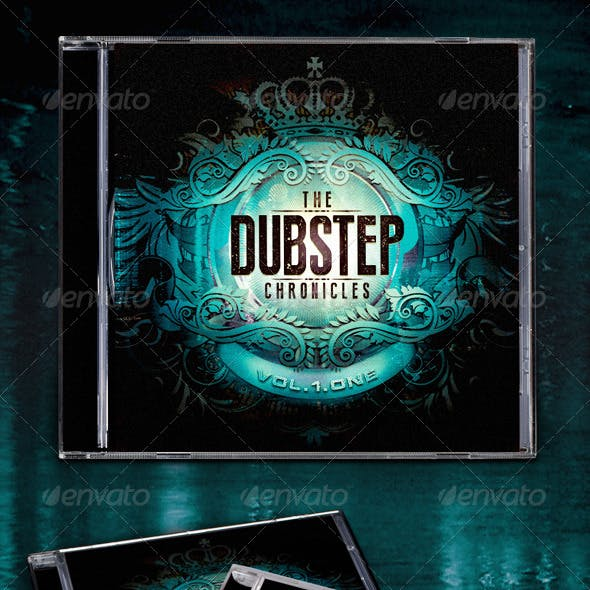 The Dubstep Chronicles CD Template