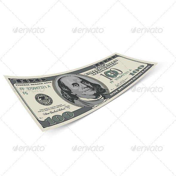Hundred dollar bill.