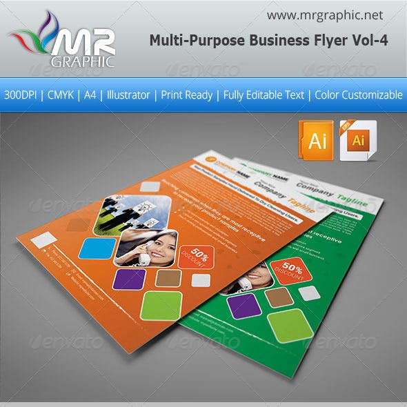 Multipurpose Business Flyer Vol-04