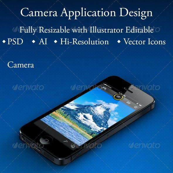 Camera Application Design for Smartphone