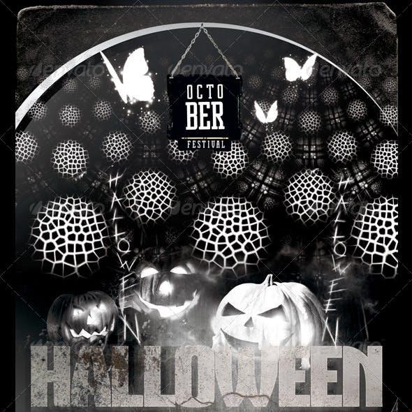 Halloween Bash Flyer/Poster Template