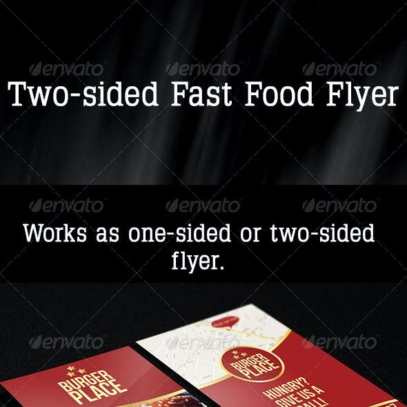 Fast Food Flyer 1