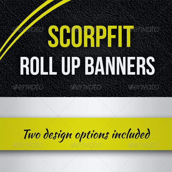 Scorpfit Rollup Banners