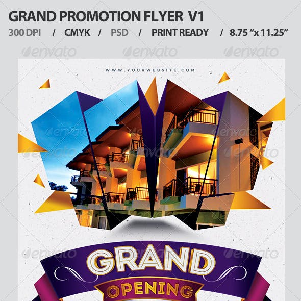 Grand Opening Event Flyer V1