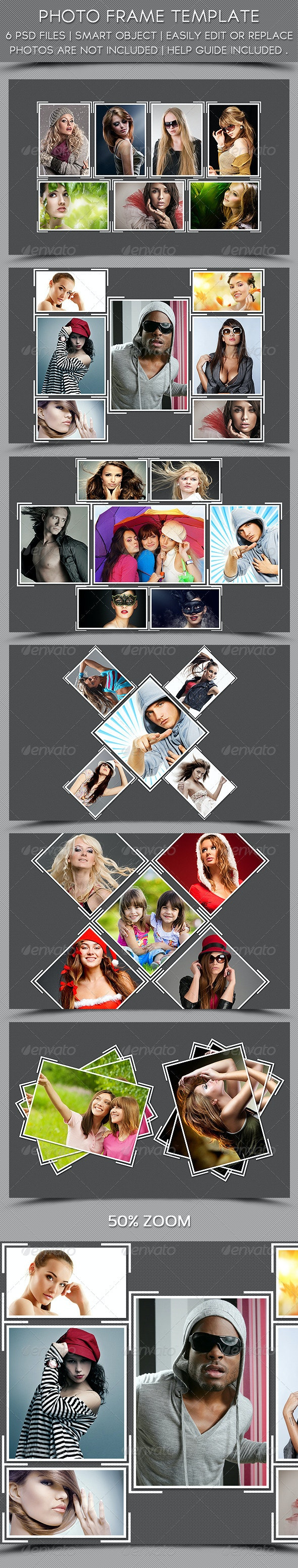 Photo Frame Template - Photo Templates Graphics
