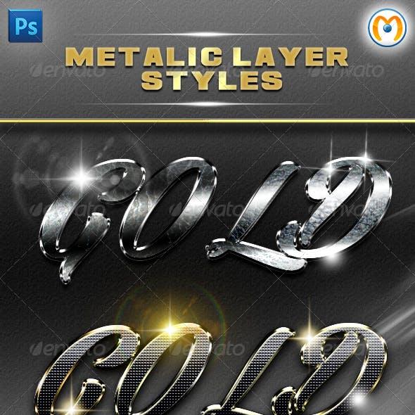 Metalic Layer Styles