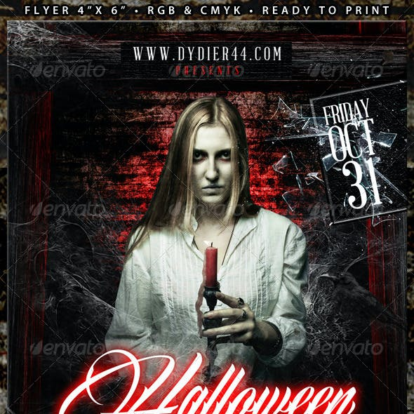 Halloween (Flyer Template 4x6)