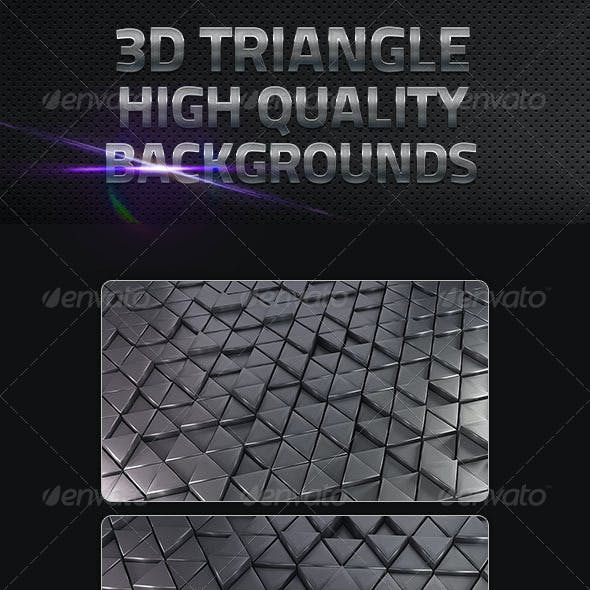 3D Triangle Backgrounds