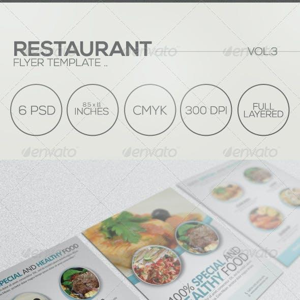 Restaurant Flyer 003
