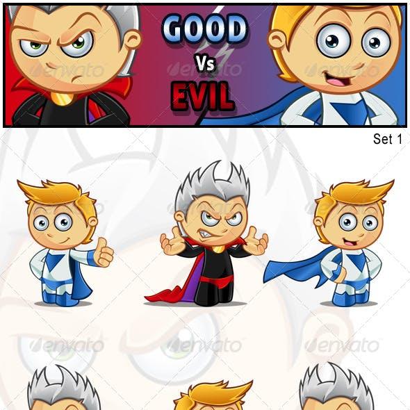 Good vs Evil Characters