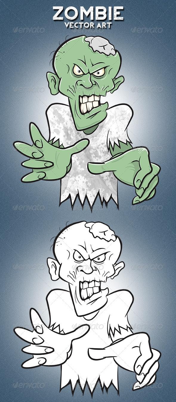 Zombie Walker - Monsters Characters