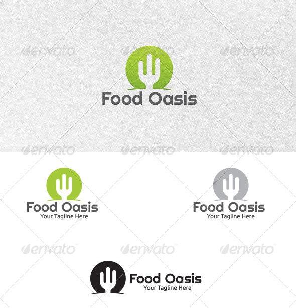 Food Oasis - Logo Template - Food Logo Templates