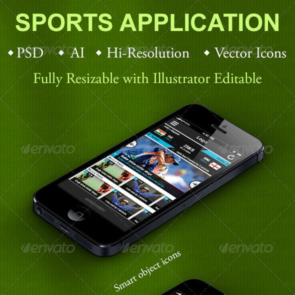 Sports Application for Smartphones