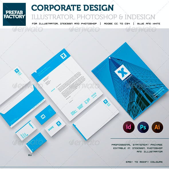 Stationary and Corporate Identity Kit