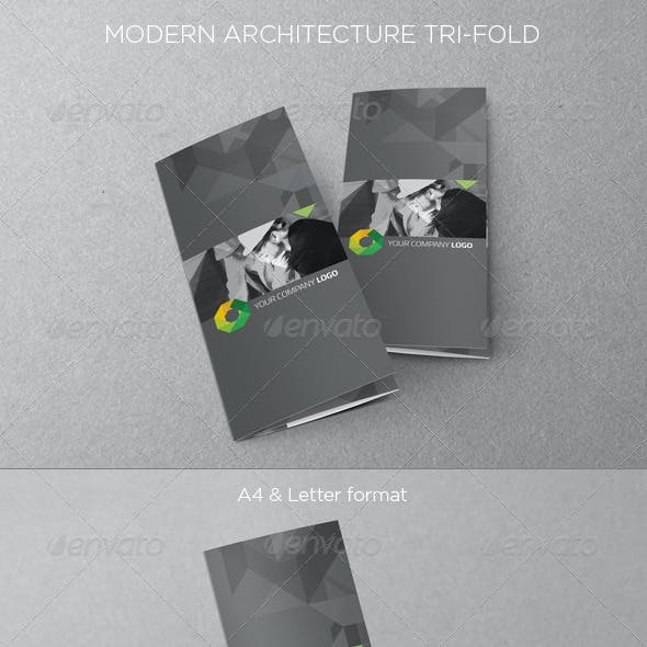 Modern Architecture Tri-fold