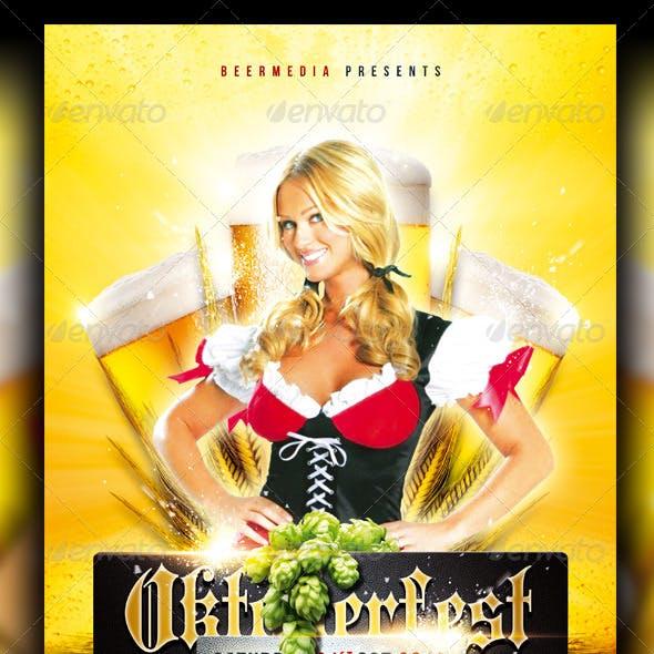 Oktoberfest / Beer Festival Flyer / Poster