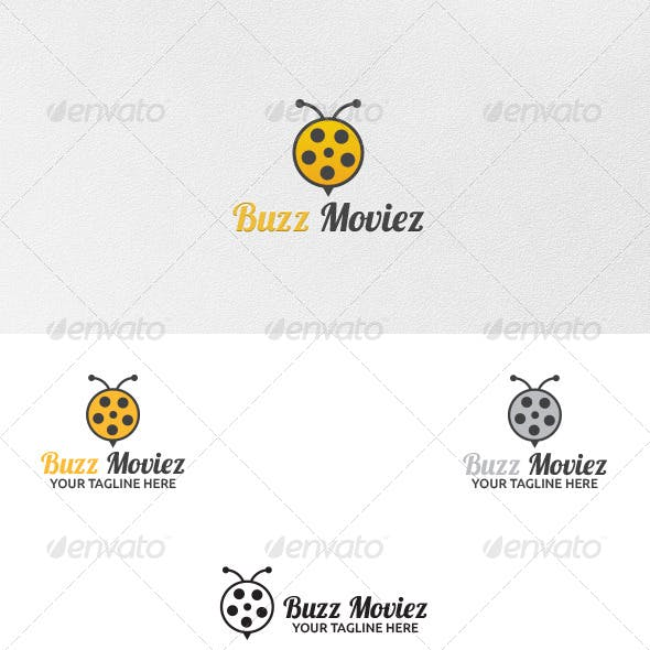 Buzz Movies - Logo Template