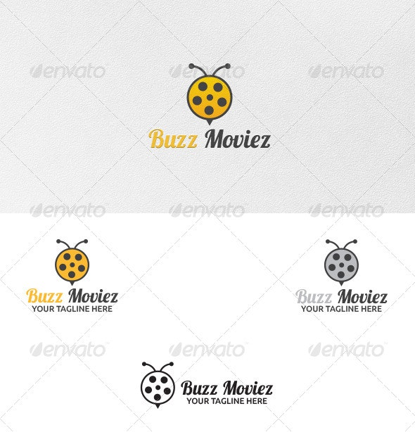 Buzz Movies - Logo Template - Animals Logo Templates