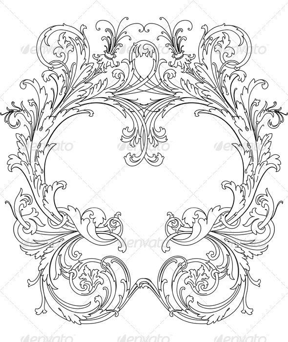 Royal Ornate Frame - Retro Technology