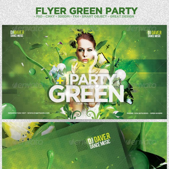 Flyer Green Party