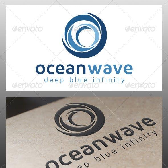 Ocean Wave Logo Template
