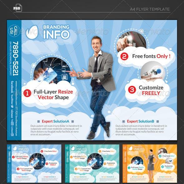 Cloud Info - Flyer Template