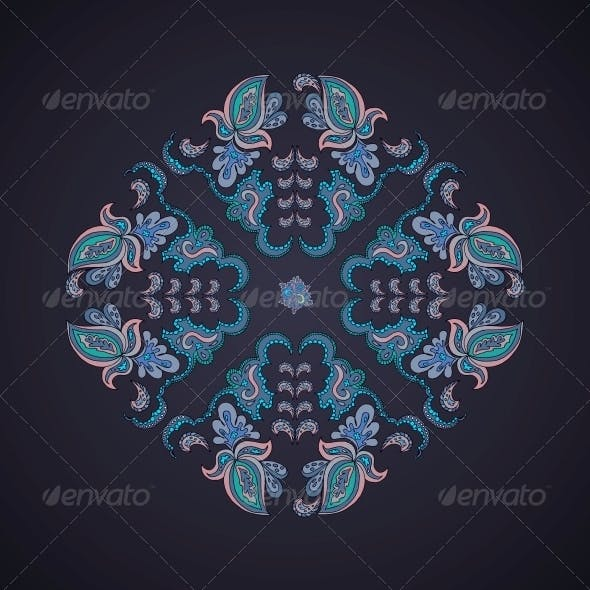 Ornamental Rround Lace Pattern