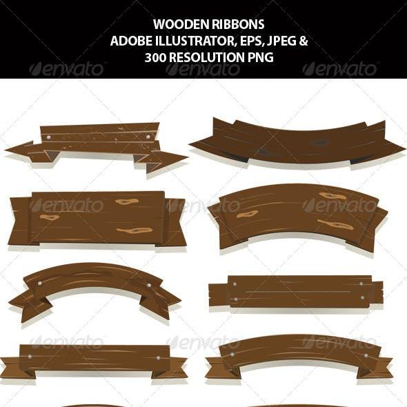 Wooden Ribbons