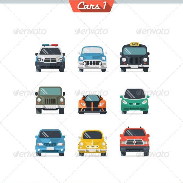 Car Icon Set 1
