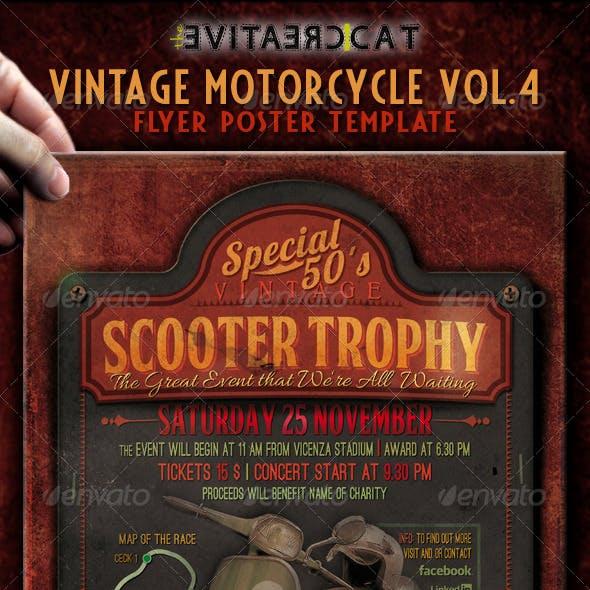 Vintage Motorcycle Flyer/Poster Vol. 4