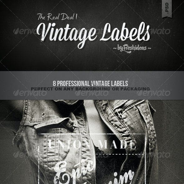 Vintage Labels - Volume 1