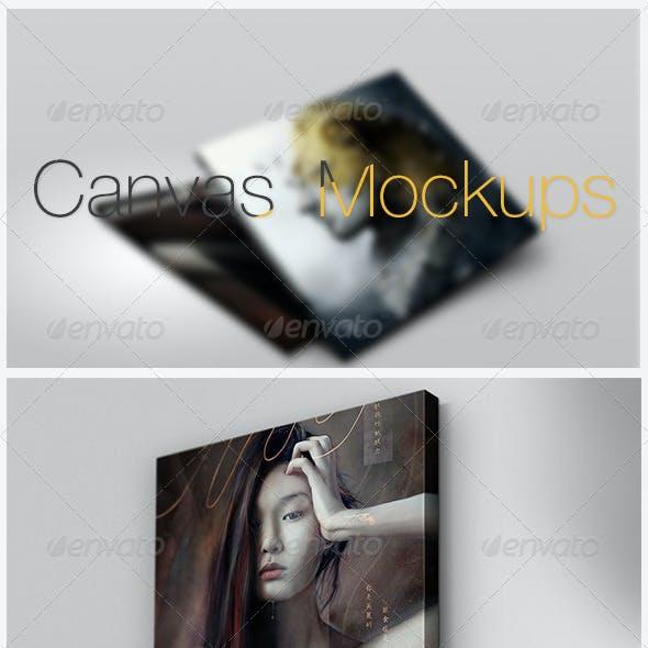 Canvas Mockups