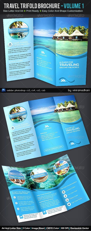 Travel TriFold Brochure   Volume 1 - Corporate Brochures