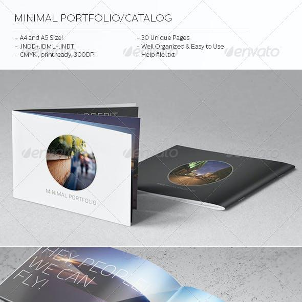 Minimal Catalog/Portfolio Template