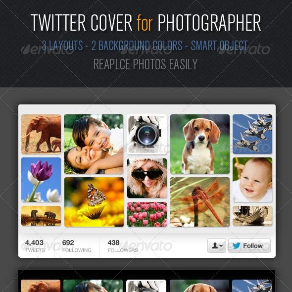 Multipurpose Twitter Cover Design