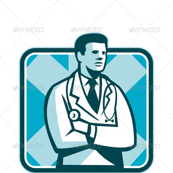 Medical Doctor with Arms Crossed