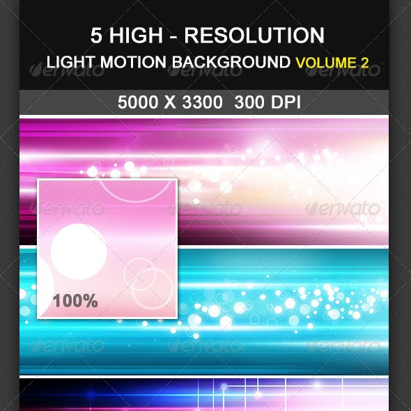 5 Light Motion Background Volume 2