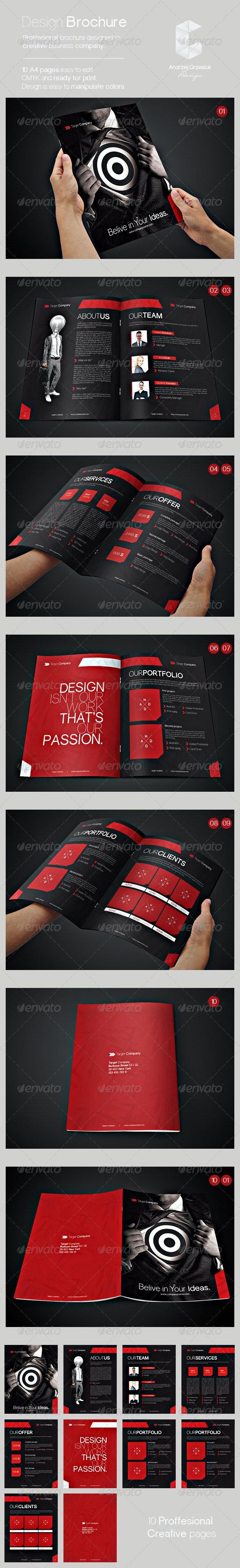 Design Brochure - Informational Brochures