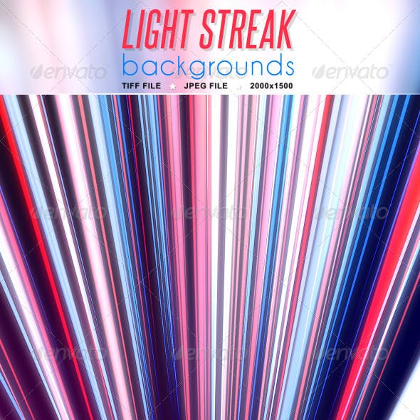 Light Streak Background
