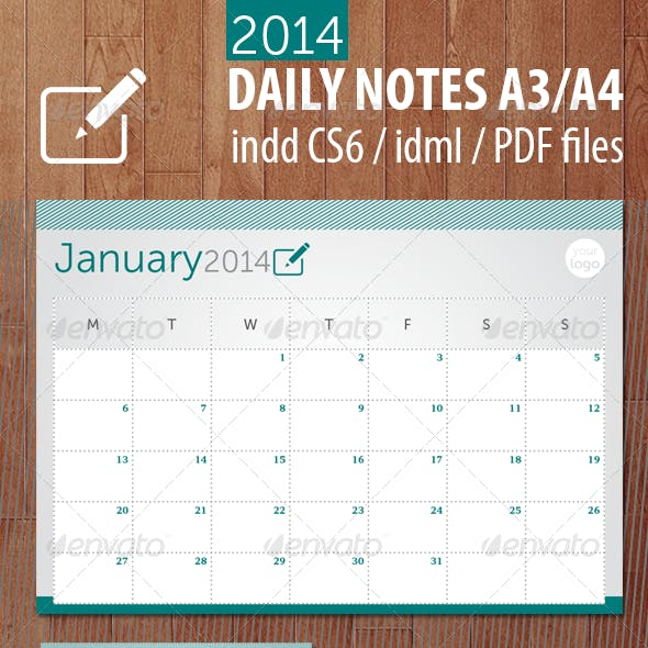 Daily Notes 2014