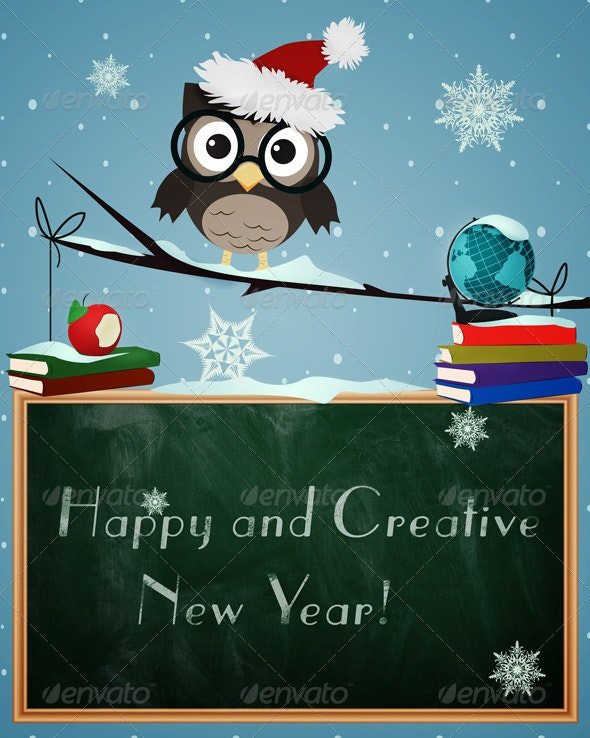 Happy and Creative New Year - New Year Seasons/Holidays