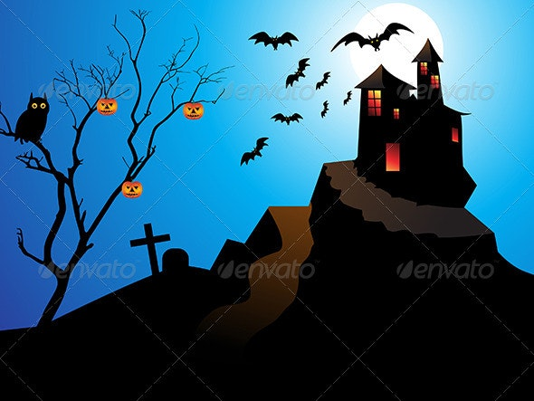 Abstract Halloween Background - Halloween Seasons/Holidays