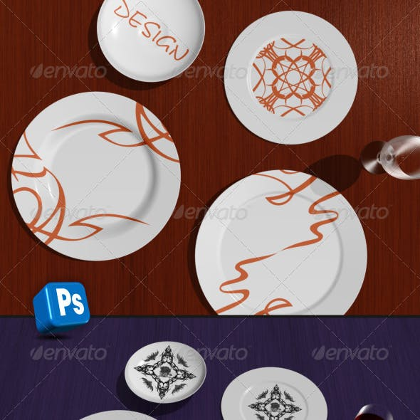 Table and plates