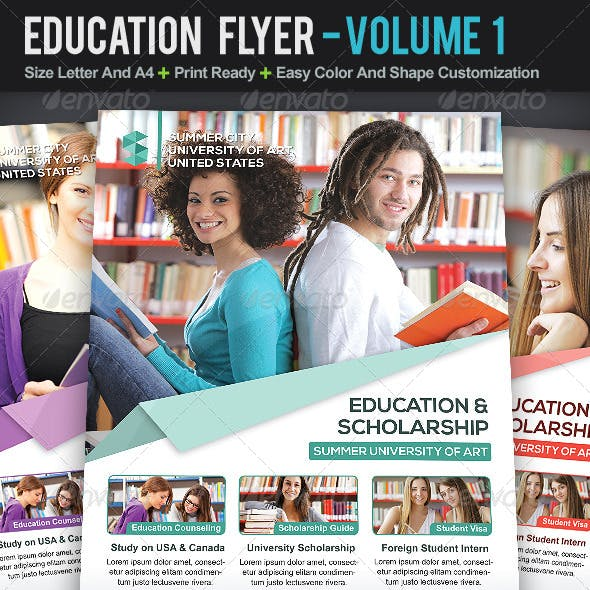 Education Flyer | Volume 1