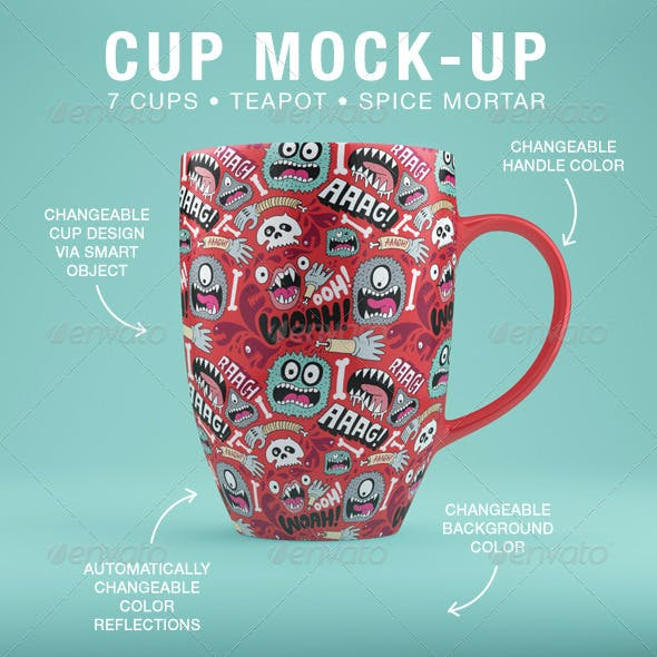 Cup Mock-Up's